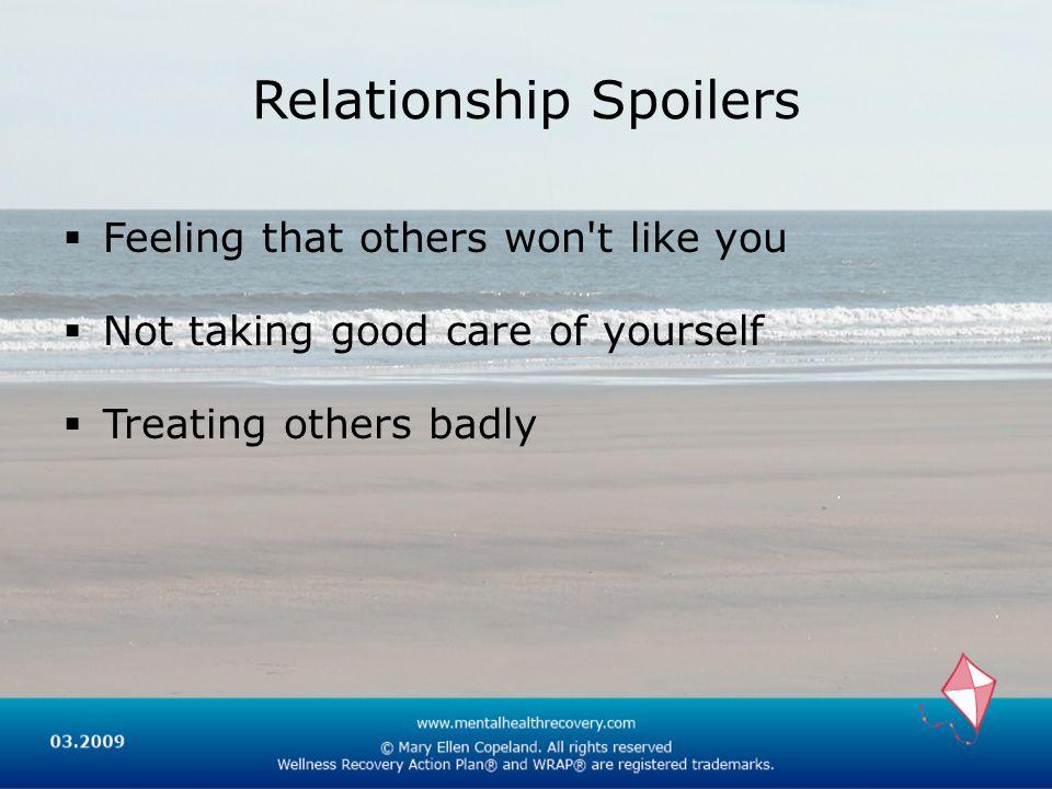 Relationship Spoilers