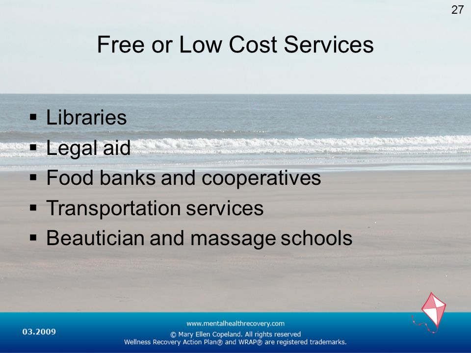 Free or Low Cost Services