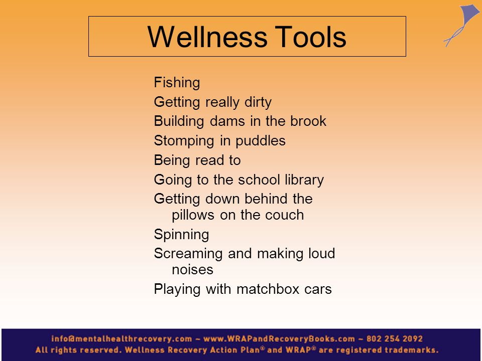 Wellness Tools Fishing Getting really dirty Building dams in the brook