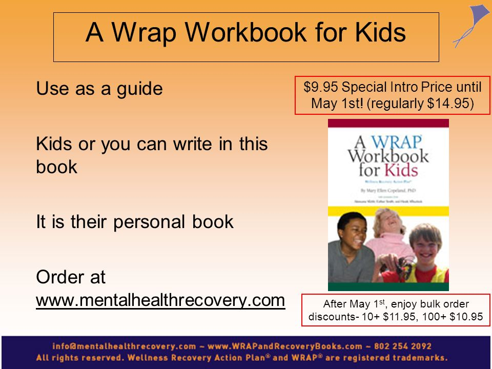 A Wrap Workbook for Kids
