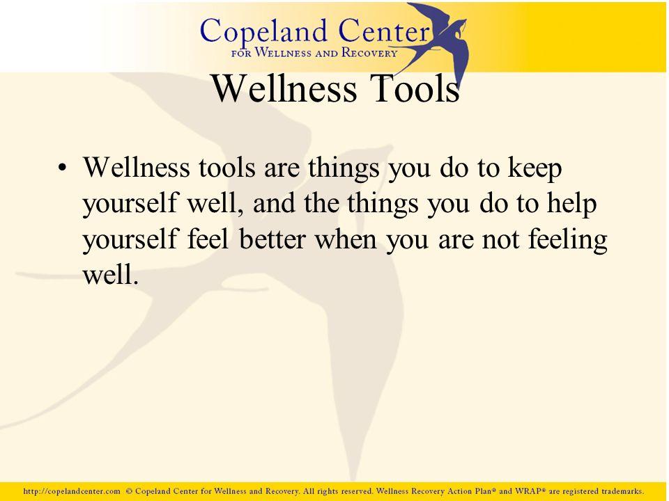 Wellness Tools
