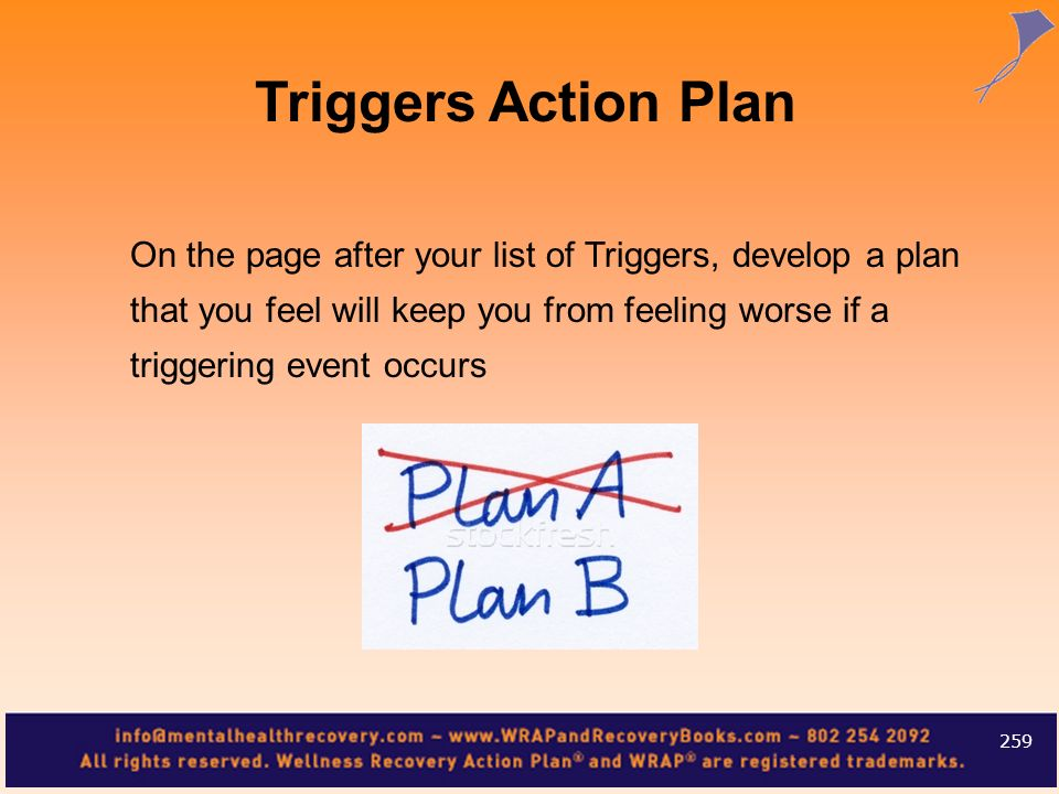 Triggers Action Plan