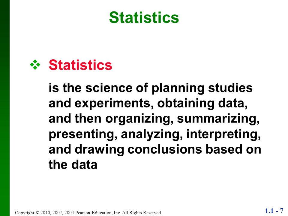 Statistics Statistics