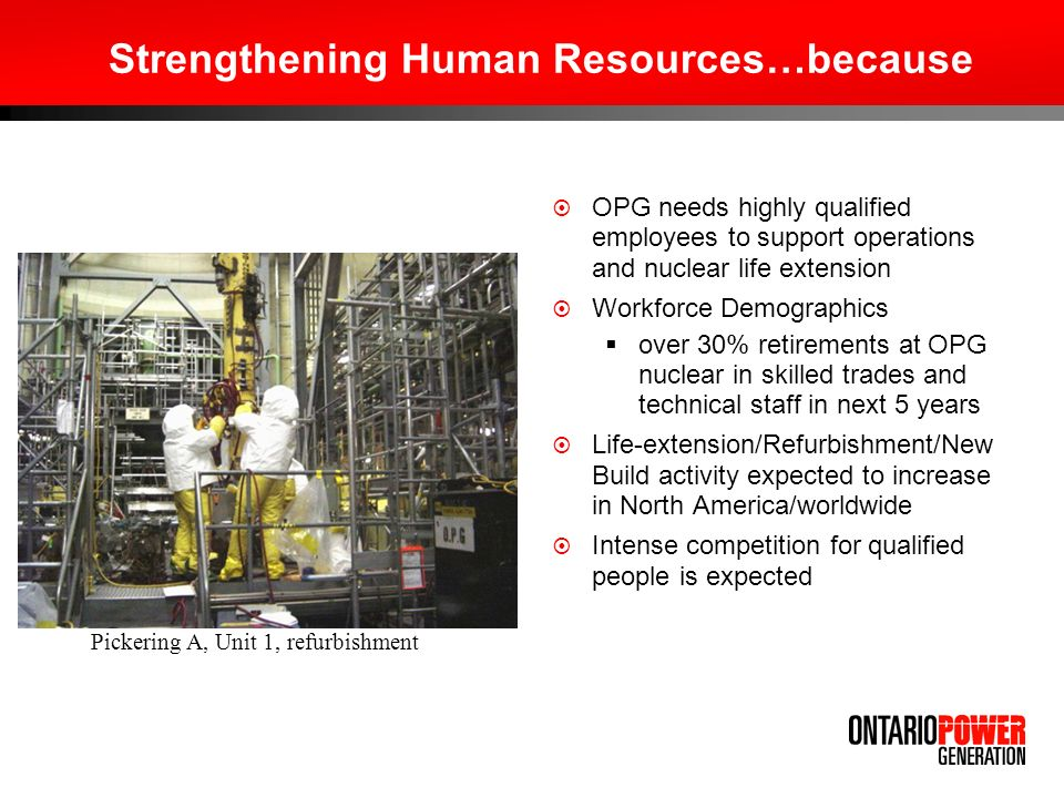 Strengthening Human Resources…because