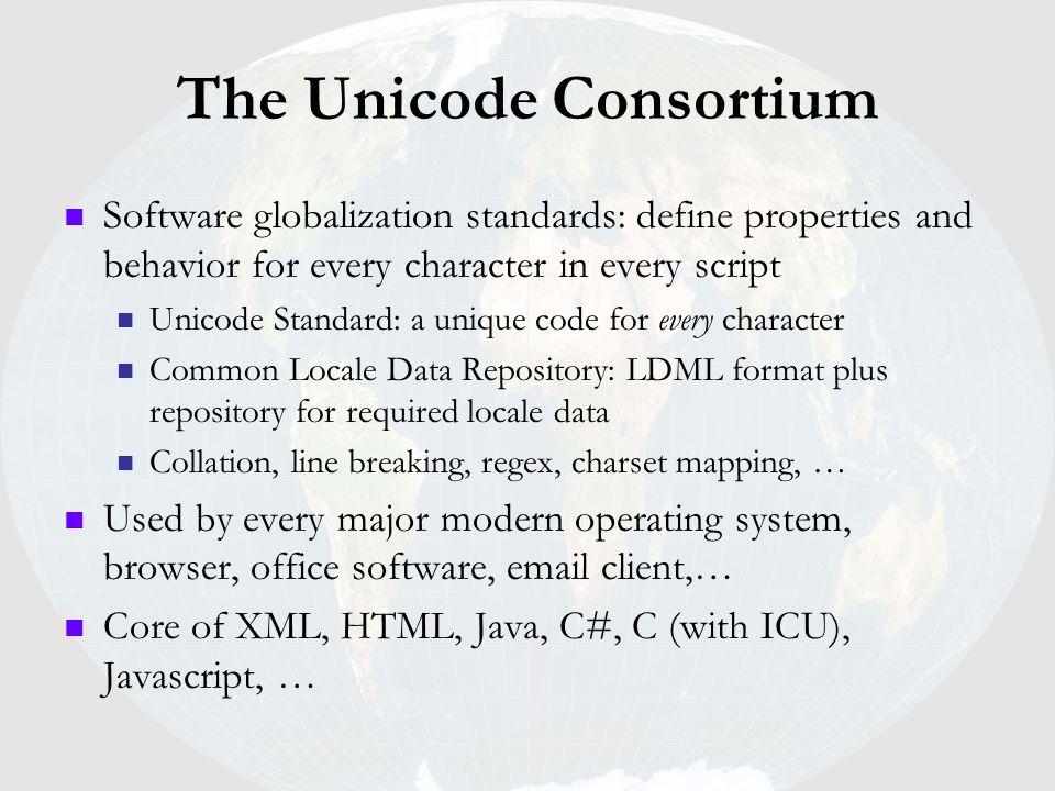The Unicode Consortium