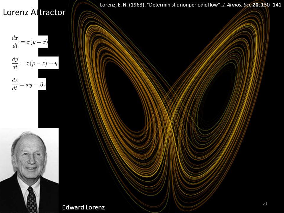 Lorenz Attractor Edward Lorenz