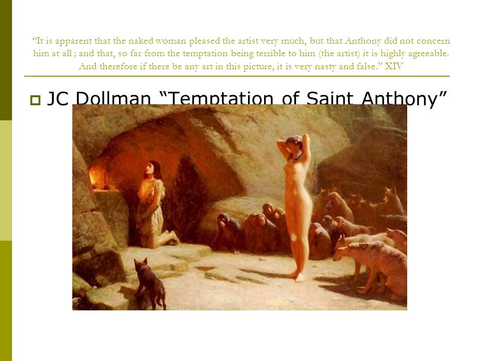 JC Dollman Temptation of Saint Anthony