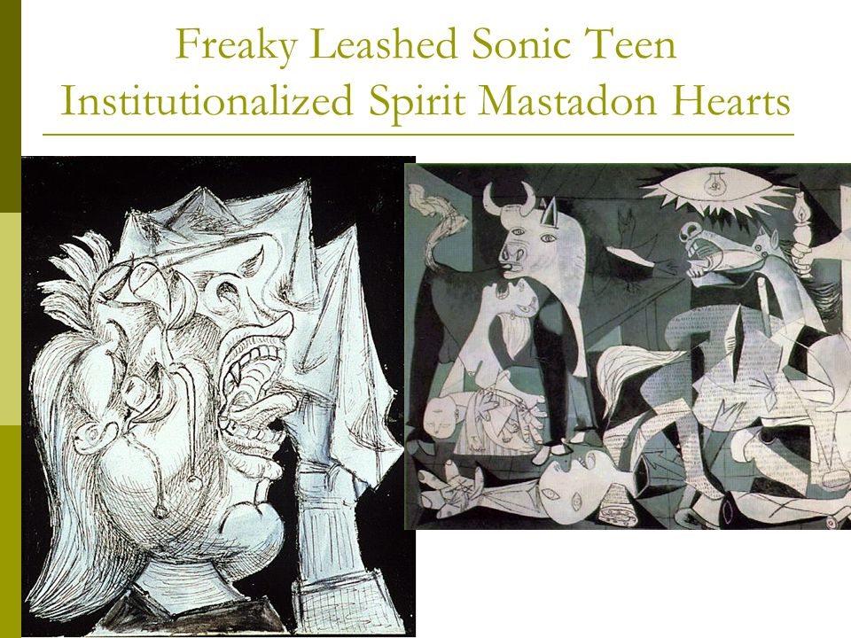 Freaky Leashed Sonic Teen Institutionalized Spirit Mastadon Hearts