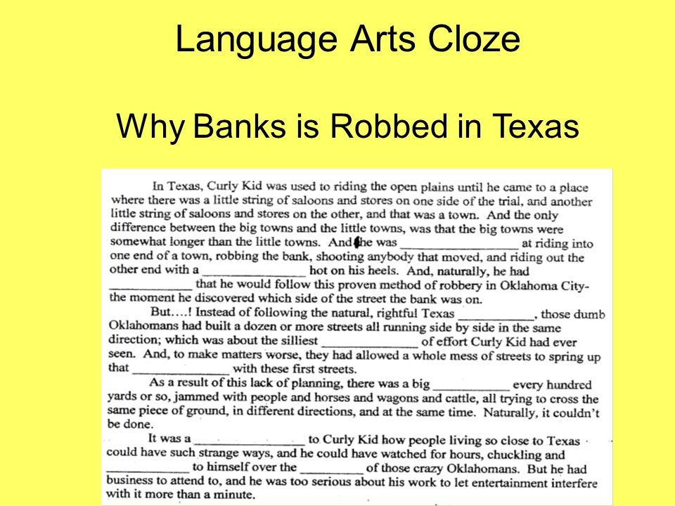 Why Banks is Robbed in Texas