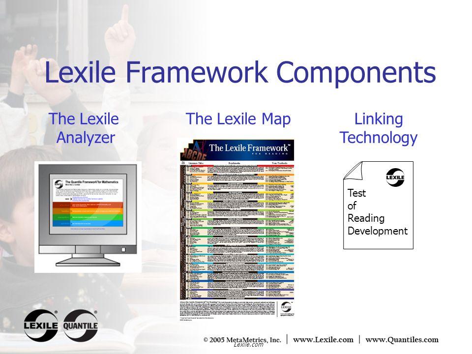 Lexile Framework Components