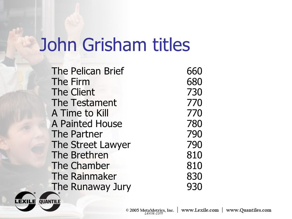 John Grisham titles