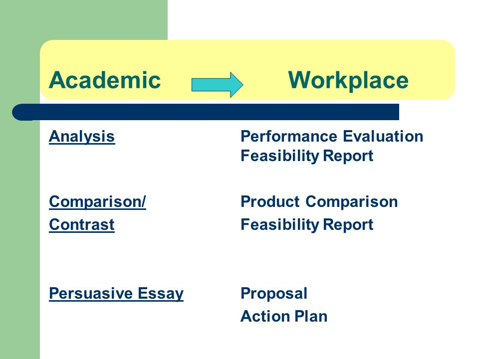 Academic Workplace Analysis Performance Evaluation Feasibility Report