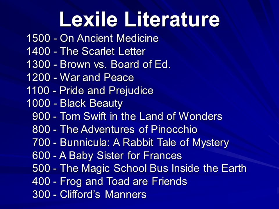 Lexile Literature On Ancient Medicine The Scarlet Letter