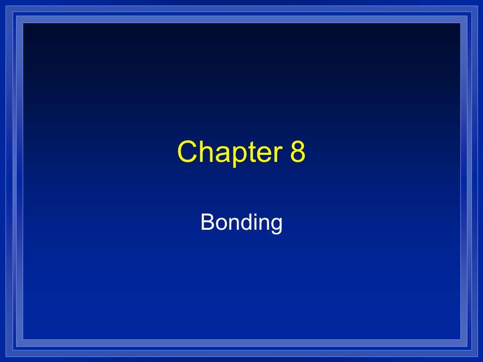 Chapter 8 Bonding