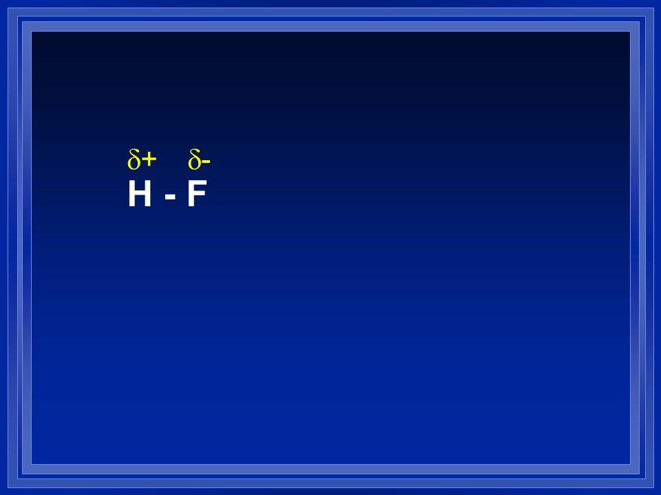 H - F d+ d-