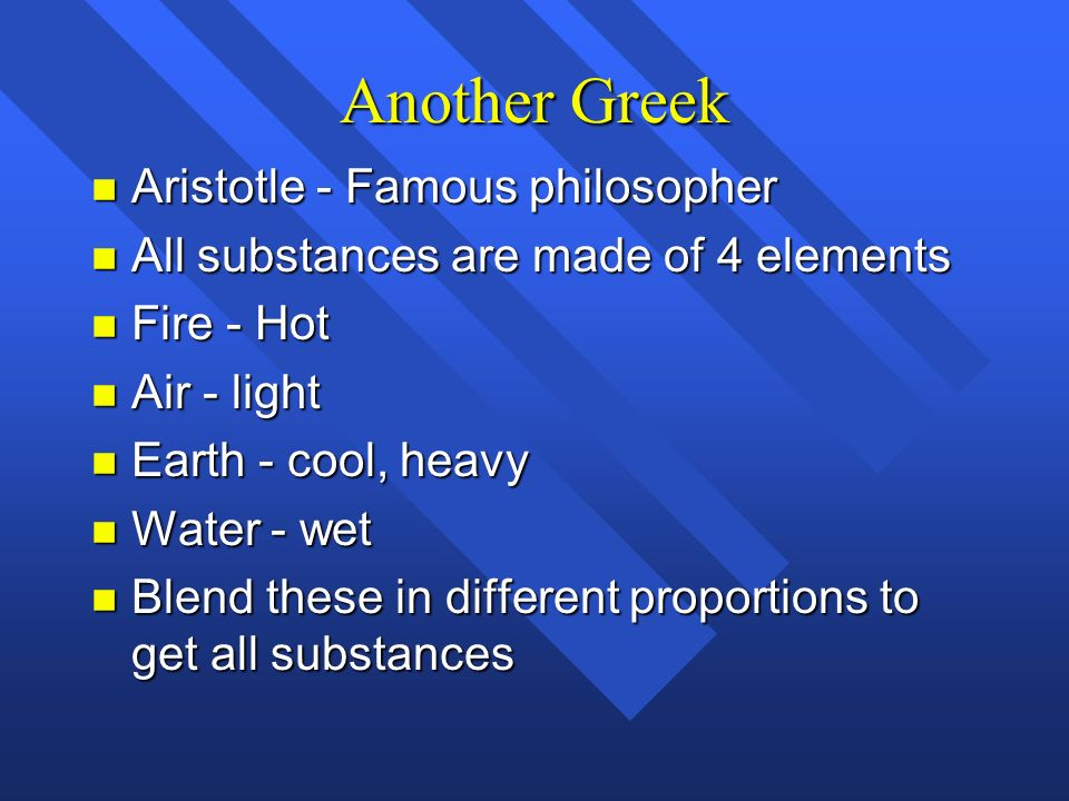 Another Greek Aristotle - Famous philosopher