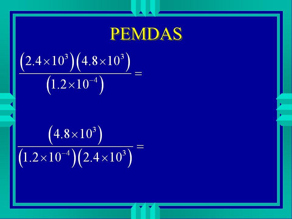 PEMDAS