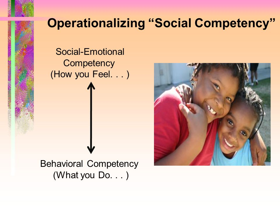 Operationalizing Social Competency
