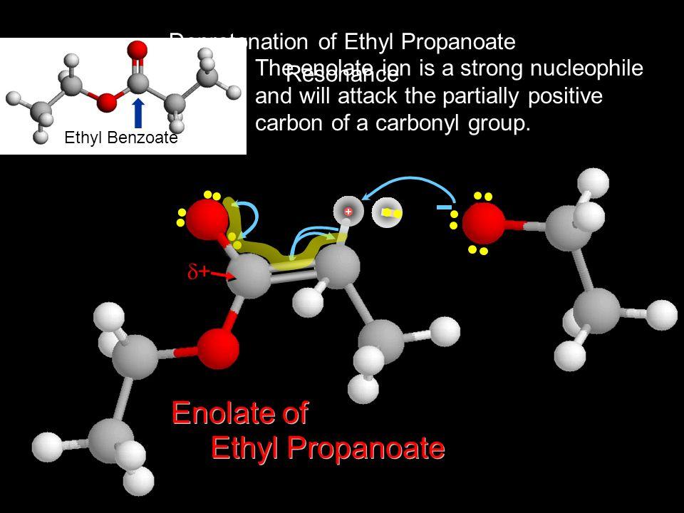 Deprotonation of Ethyl Propanoate
