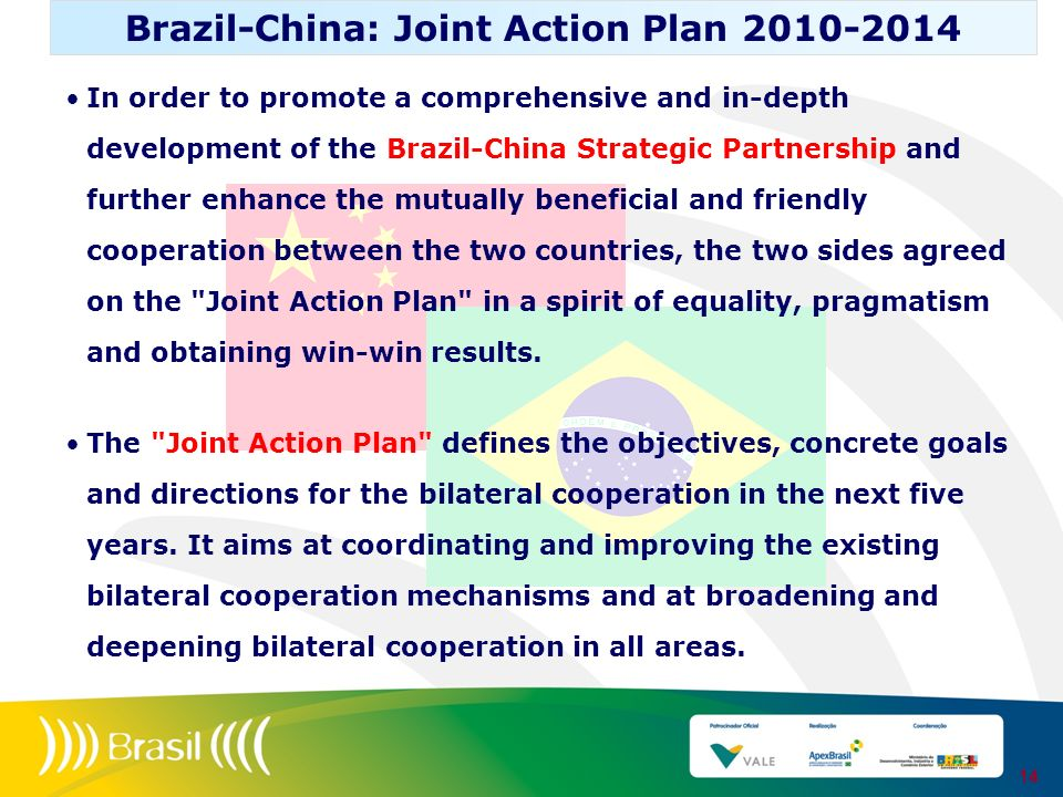 Brazil-China: Joint Action Plan 2010-2014
