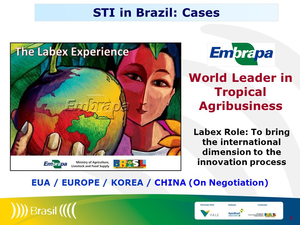 STI in Brazil: Cases World Leader in Tropical Agribusiness