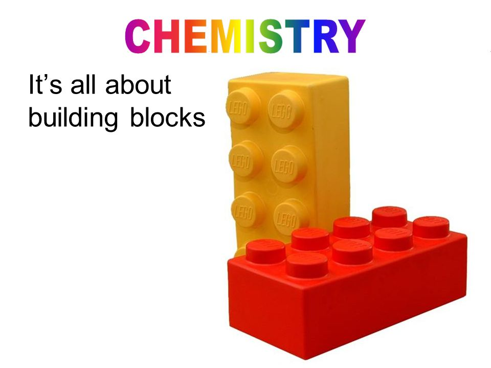 It's all about building blocks