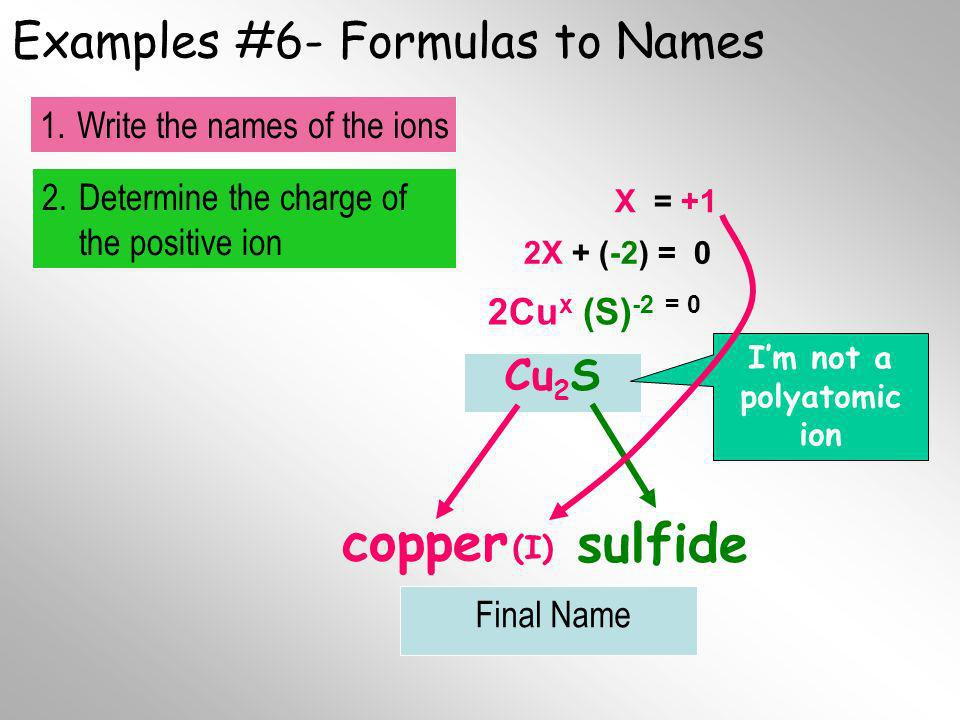 Examples #6- Formulas to Names