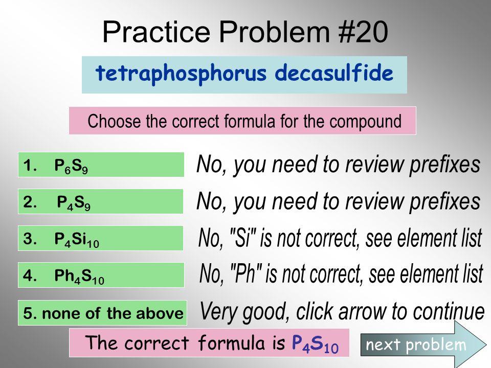 tetraphosphorus decasulfide