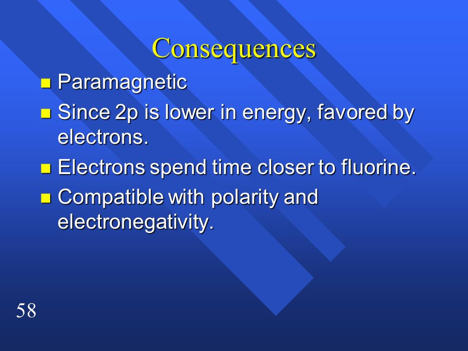 Consequences Paramagnetic