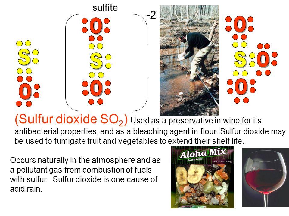 sulfite -2. O. S. O. S. O. O. - S. O.