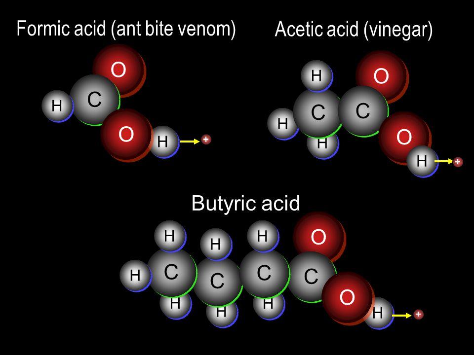 Formic acid (ant bite venom)