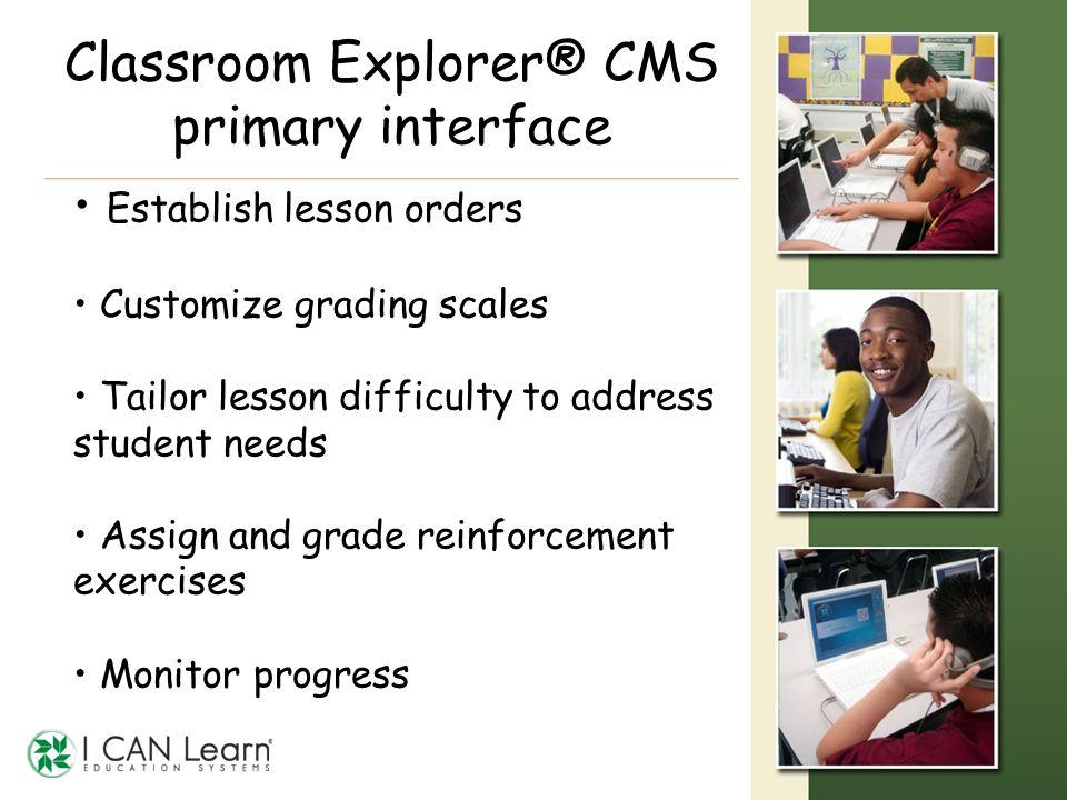 Classroom Explorer® CMS