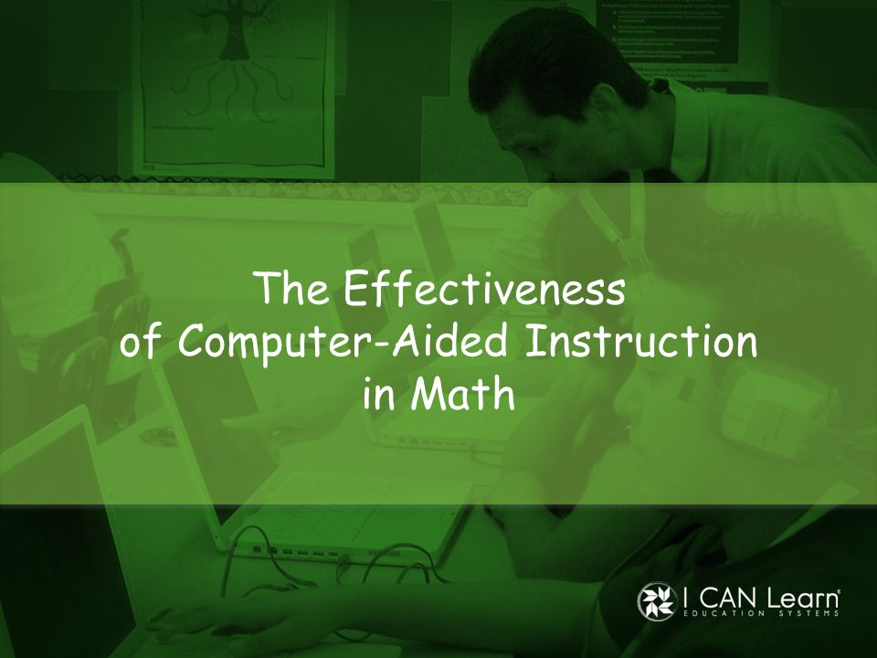 of Computer-Aided Instruction in Math