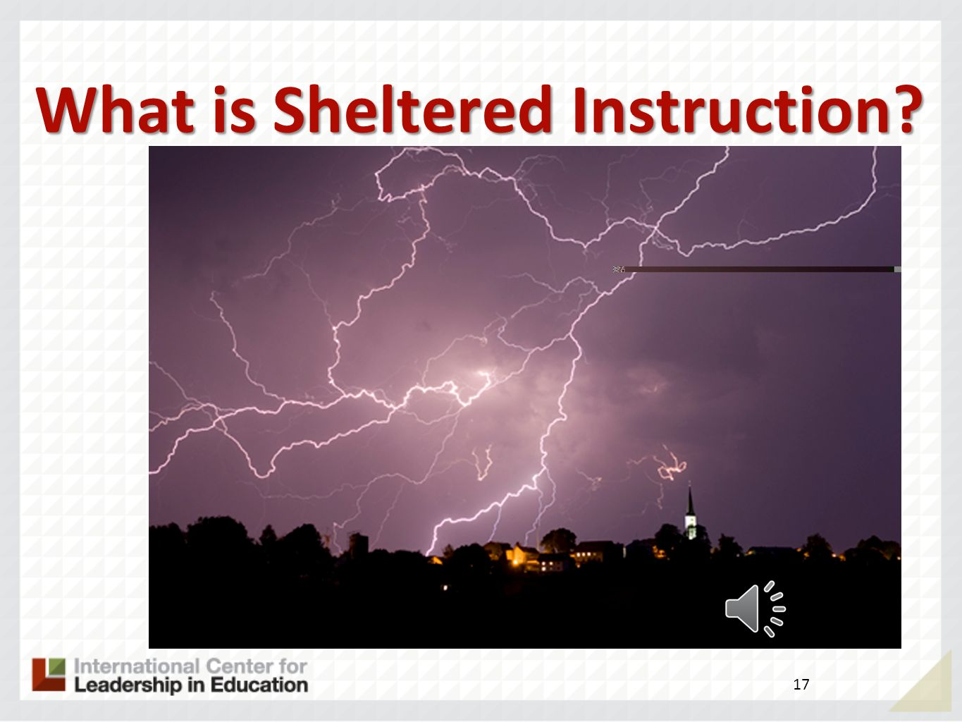 What is Sheltered Instruction