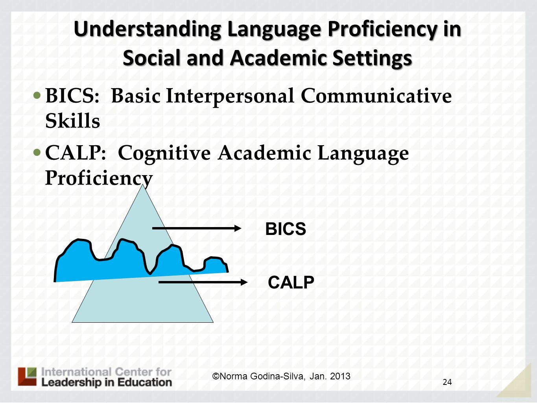 Understanding Language Proficiency in Social and Academic Settings