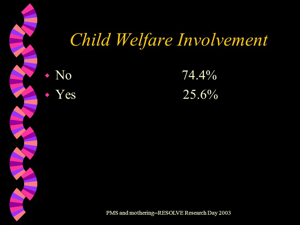 Child Welfare Involvement