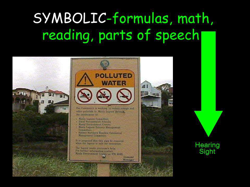 SYMBOLIC-formulas, math, reading, parts of speech,