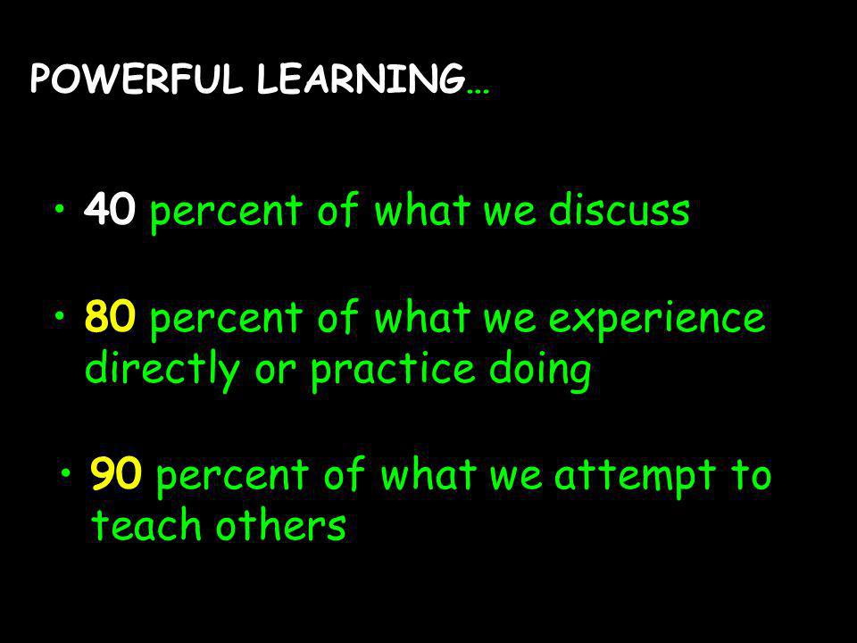 (c) susan kovalik The Center for Effective Learning