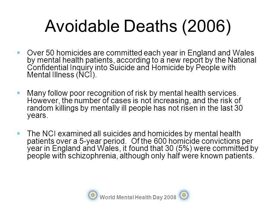 Avoidable Deaths (2006)