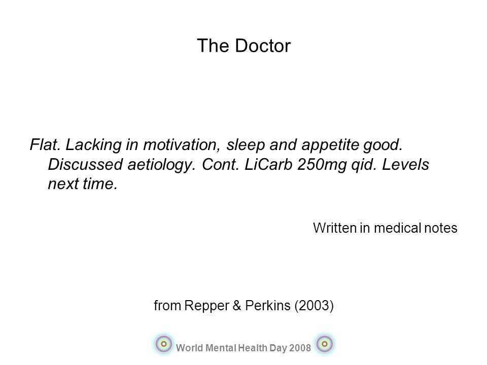 from Repper & Perkins (2003)