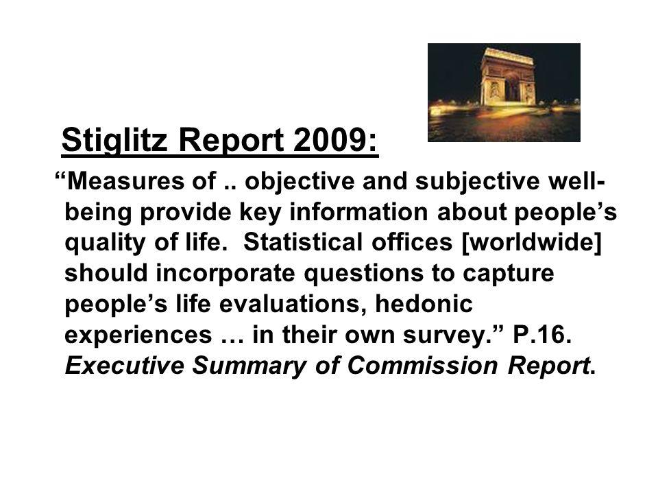 Stiglitz Report 2009: