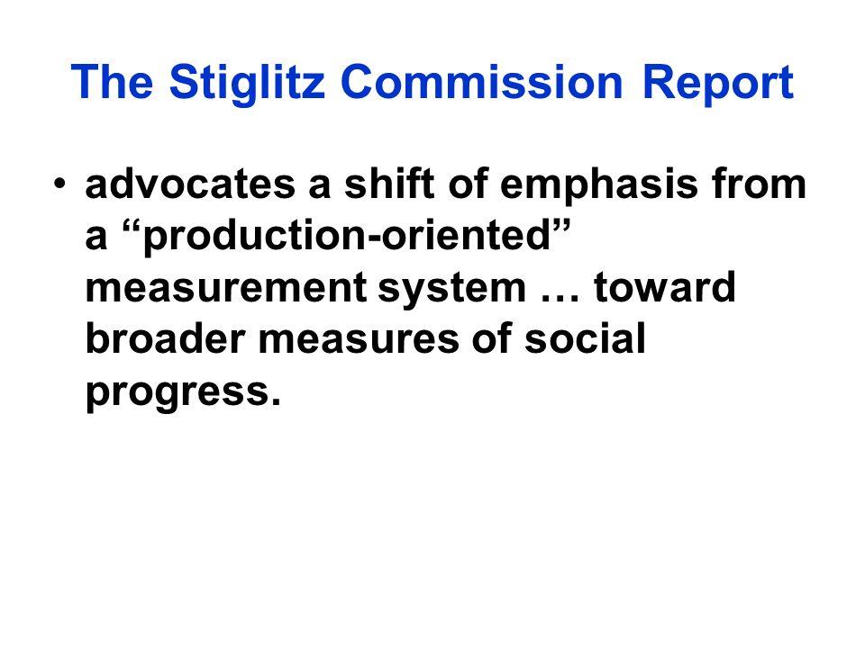 The Stiglitz Commission Report