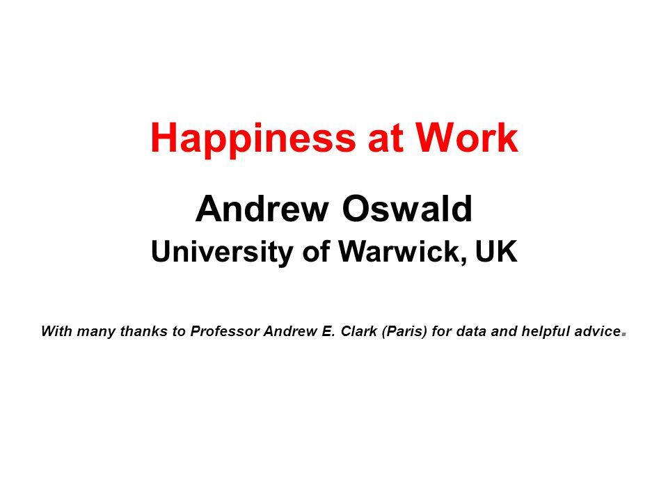 University of Warwick, UK