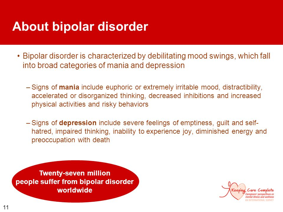About bipolar disorder