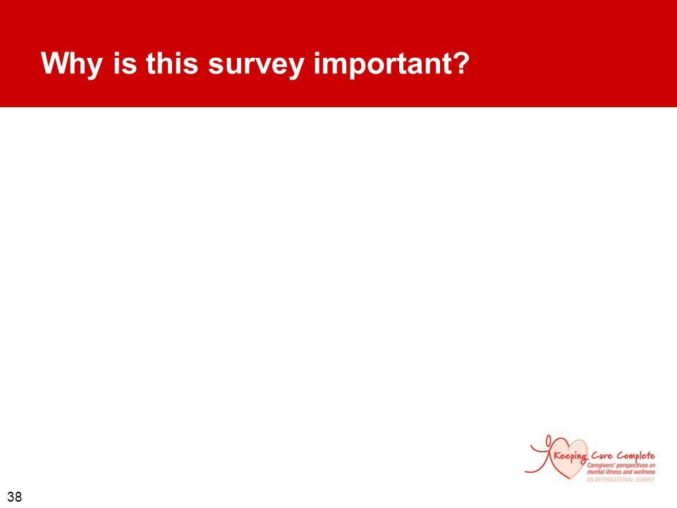 Why is this survey important