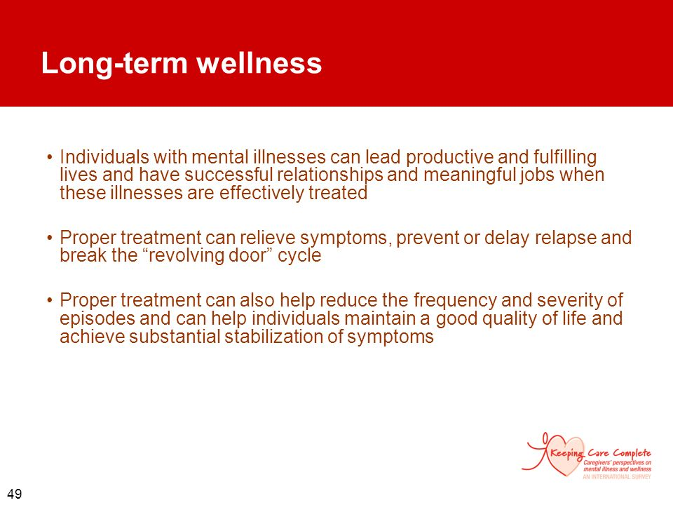 Long-term wellness