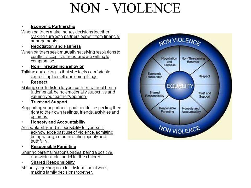 NON - VIOLENCE Economic Partnership