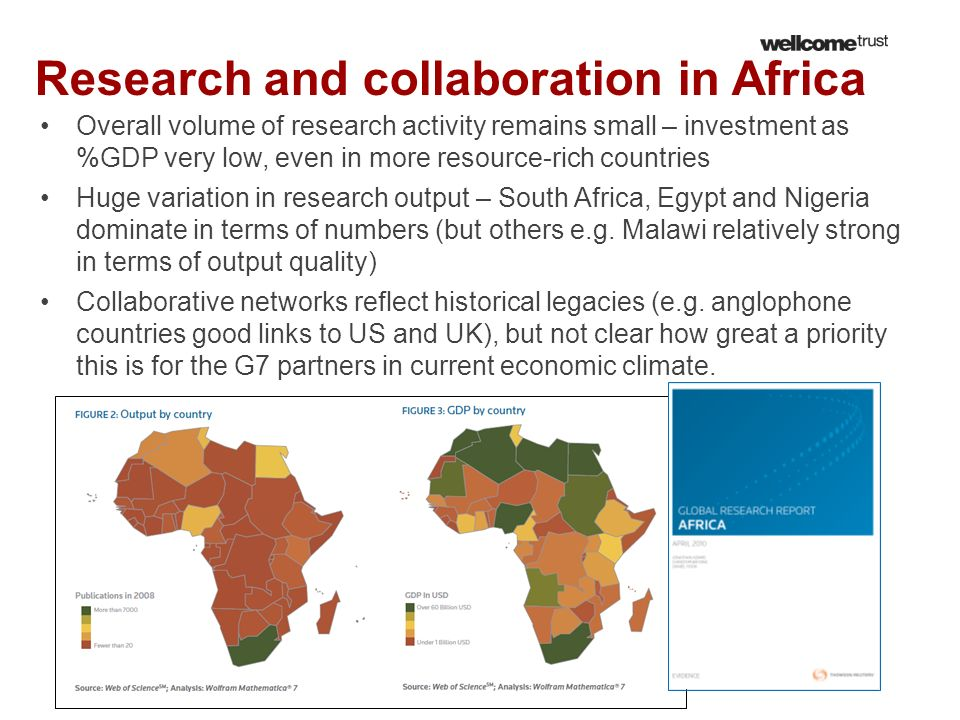Research and collaboration in Africa