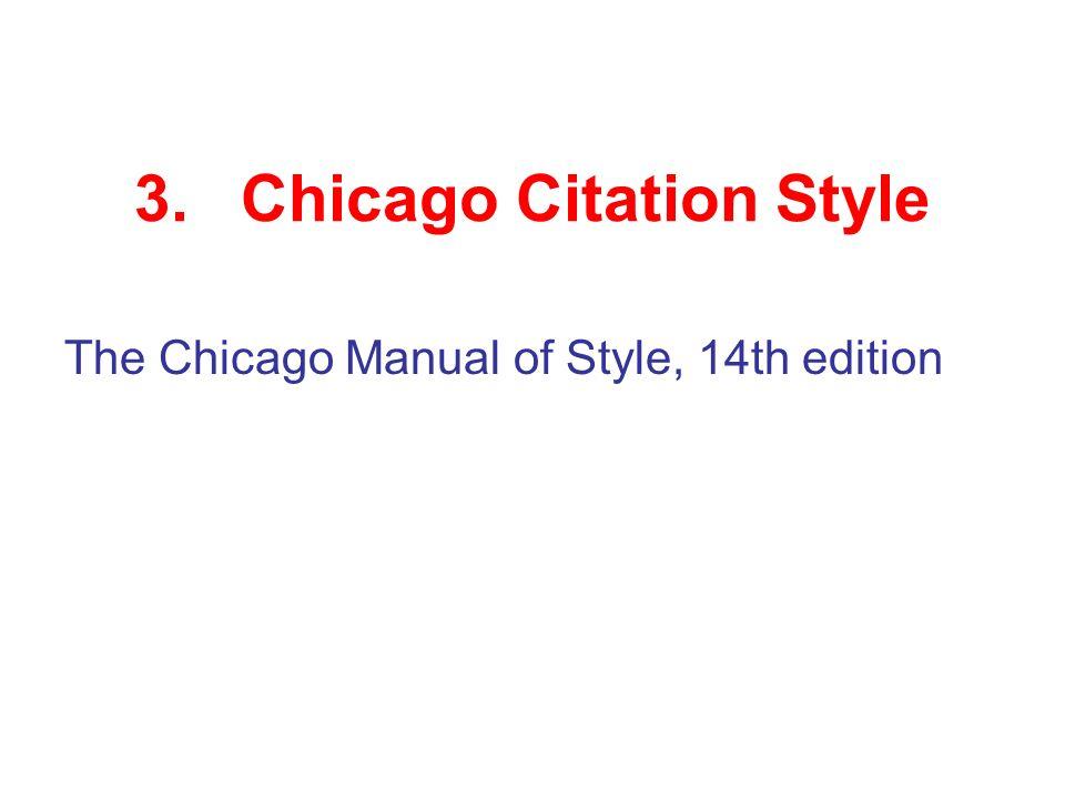 chicago style citaiton