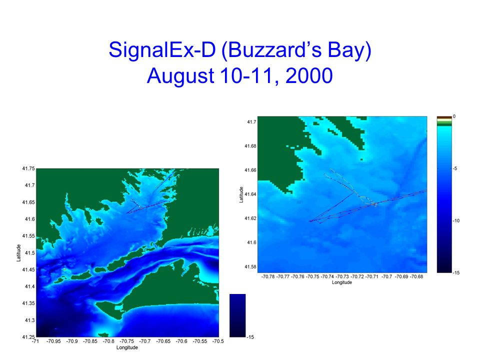 SignalEx-D (Buzzard's Bay) August 10-11, 2000